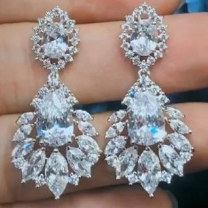 Jewelry - 💎AAA+ Zirconia crystal drop earrings